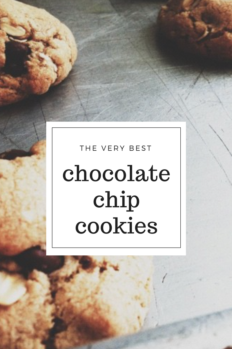 The very best chocolate chip cookies | mrscaseyann