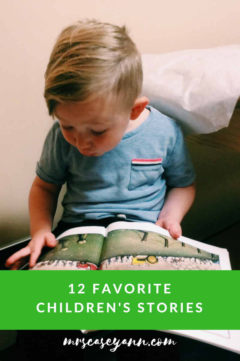12 favorite children's stories